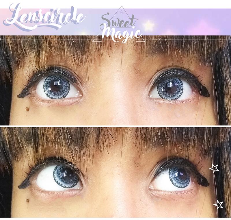 Lens Circle Nudy Blue - beleza japonesa