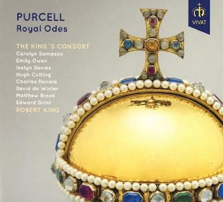 Henry Purcell Royal Odes; The King's Consort, Robert King; VIVAT