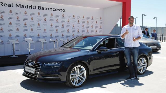 Audi entrega vehículos al Madrid de baloncesto