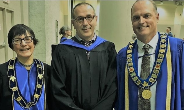 Albanian doctor Lulzim Rrafshi honored with the Career Award in Canada