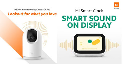 Xiaomi เปิดตัว 2 ผลิตภัณฑ์ Smart Home ใหม่ด้วย Mi Smart Clock นาฬิกาอัจฉริยะ และ Mi  360 ° Home Security Camera 2K Pro กล้องวงจรปิดระดับ 2K