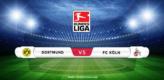 Borussia Dortmund vs Koln Prediction & Match Preview