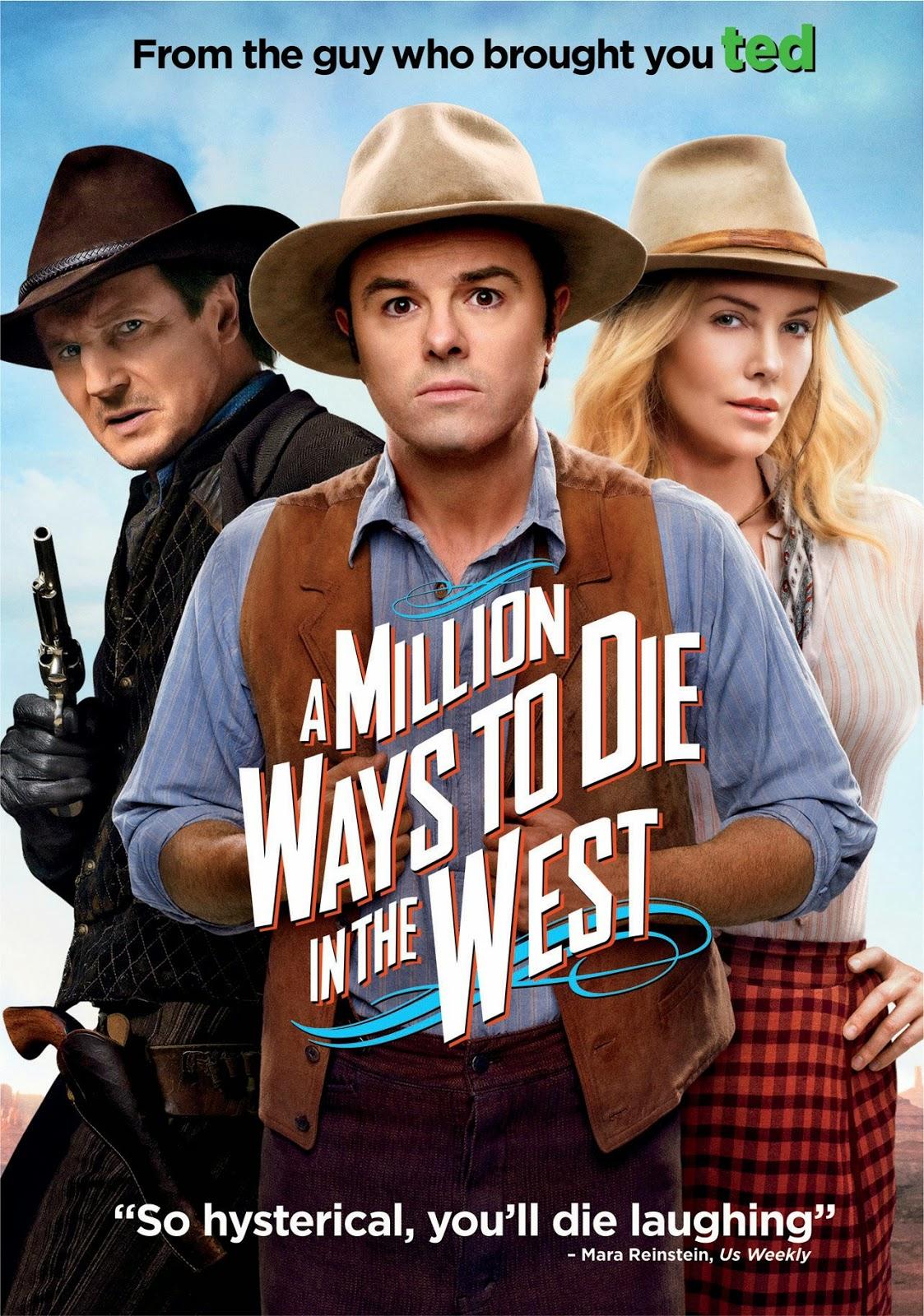 A Million Ways to Die in The West (2014) สะเหล่อไม่แอ๊บ แสบได้โล่ห์ [HD][พากย์ไทย]
