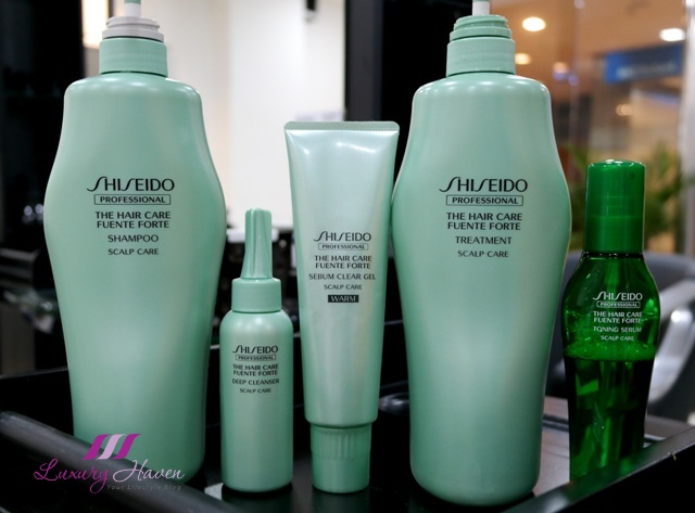 shiseido hair styling products naoki yoshihara japanese hair salon shiseido fuente forte 8323