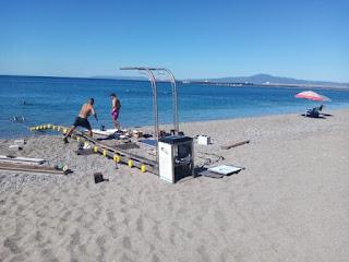 Seatrac της Ανάστασης με αποκατάσταση στην παραλία