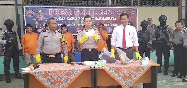 Bandar Sabu Seberat 1 Kg Ditangkap