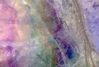 Zdjęcie makro fluorytu