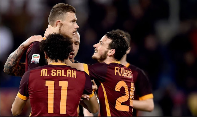 Hasil Liga Italia 2016 Pekan-9 : AS Roma Taklukan Palermo 4-0 di Olimpico