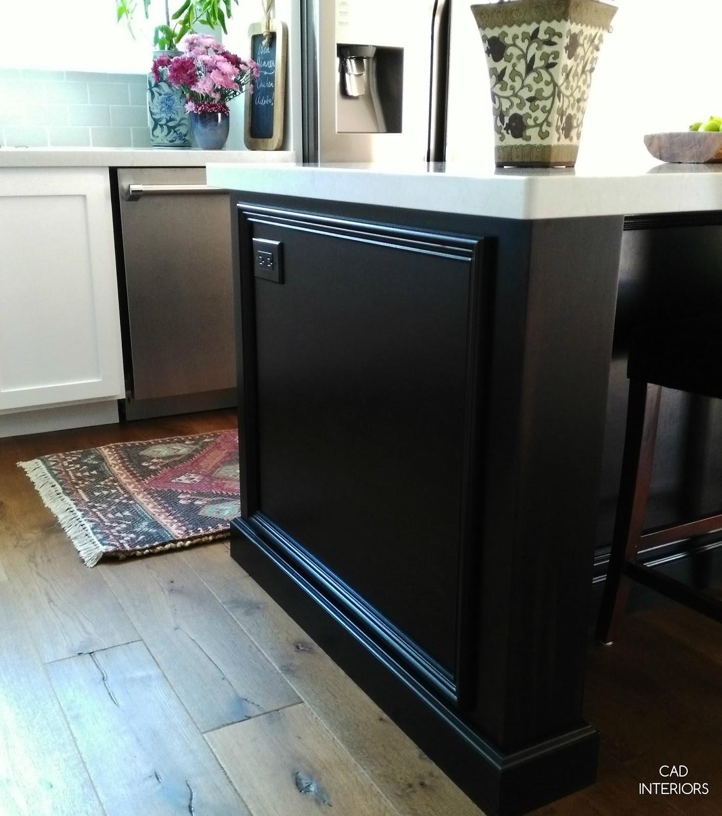 CAD INTERIORS kitchen renovation pental quartz slab counters