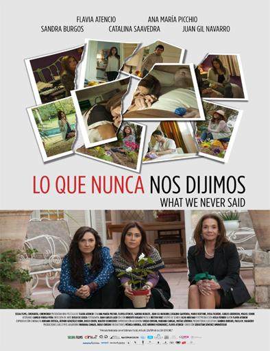 Ver Lo que nunca nos dijimos (2015) Online