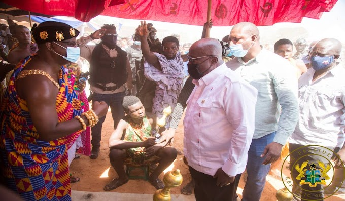 """""""Ghana's Bauxite Will Benefit All Ghanaians, And Will Not Be Owned By One Person"""" – Akufo-Addo"""