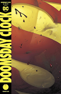 Doomsday Clock #12 cover