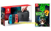 Logo Gustati un gioco da paura: vinci 48 videogiochi e 7 Nintendo Console Switch