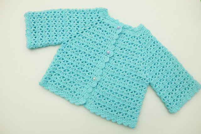 3 - Crochet Imagen Chaqueta muy fácil para todas las tallas a crochet y ganchillo (4)