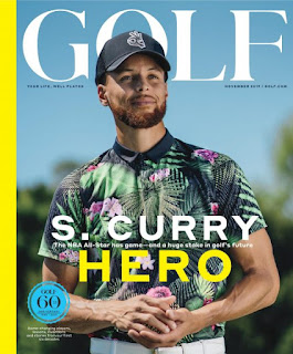 'Hero' Step Curry Featured on Cover of GOLF Magazine's 60th Anniversary Edition