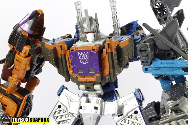 unite warriors bruticus head