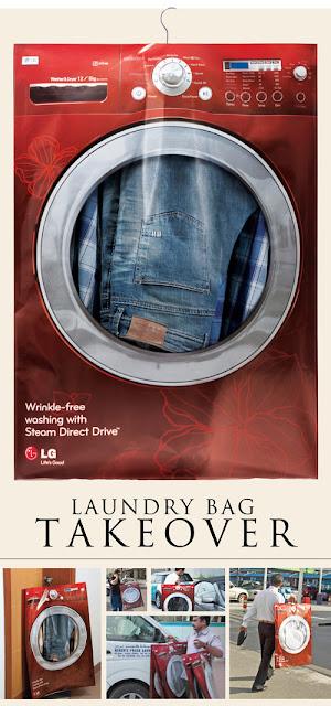 desain Paper Bag/ Tas Belanja mesin cuci