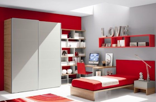 Contoh gambar kamar remaja sederhana