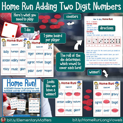 https://www.teacherspayteachers.com/Product/Two-Syllable-Words-Baseball-Themed-BINGO-Game-303611?utm_source=baseball%20blog%20post&utm_campaign=home%20run%20long%20vowels
