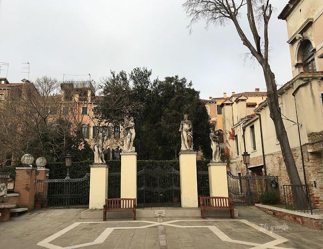 Venecia fotos jardín