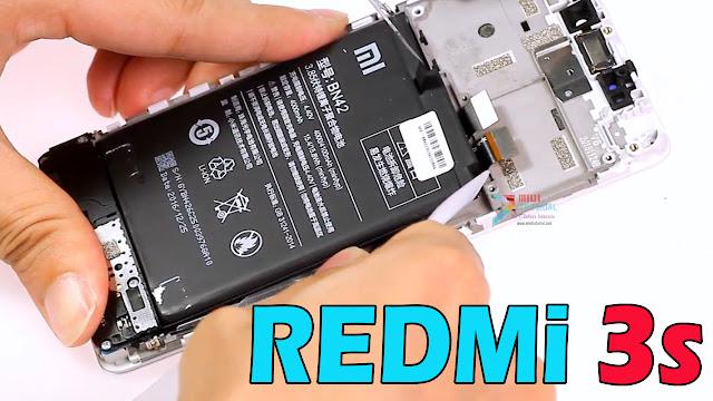 Semudah Inilah Cara Mengganti Baterai Xiaomi Redmi 3s: Pemula Pun Langsung Bisa + Video