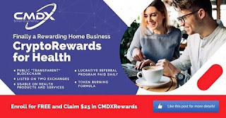 CMDX is a smartcurrency 4 healthcare. A crypto or digital currency like bitcoin.