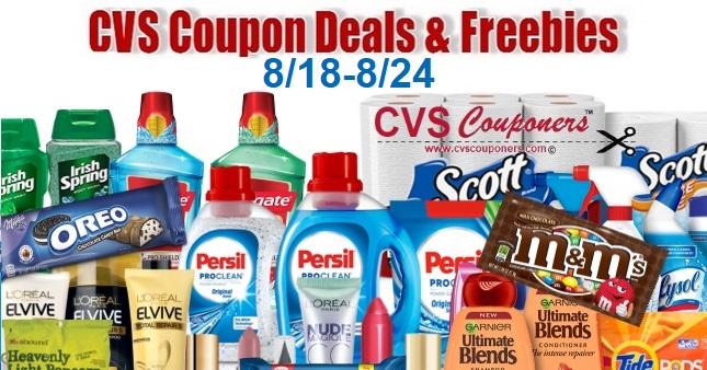 CVS Coupon Deals 8-18 8-24