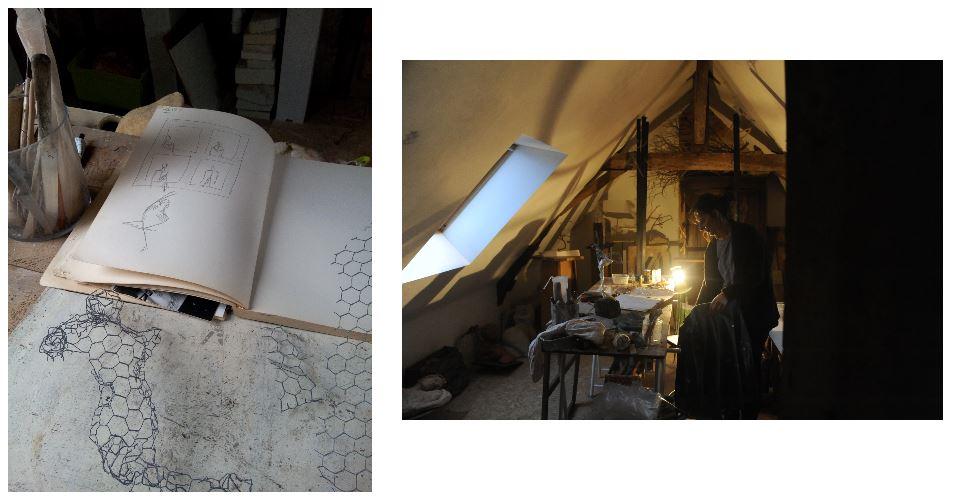 atelier de blandine good atelier de blandine photos uniques architecte d interieur architecte d. Black Bedroom Furniture Sets. Home Design Ideas