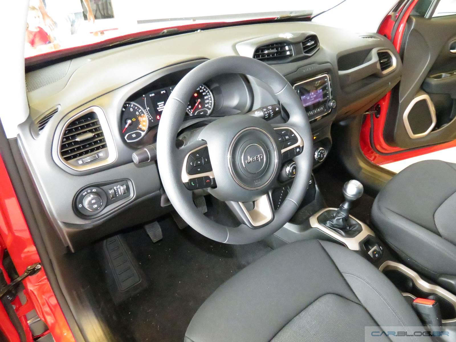 Jeep renegade flex fotos e v deo do modelo de r 69 9 mil for Interior jeep renegade