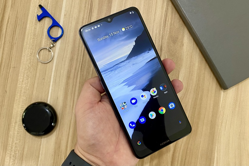 Nokia 2.4 Review + Unboxing: Display