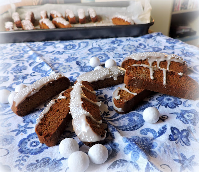 Gingerbread Biscotti