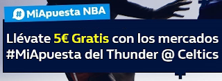 william hill promocion nba Thunder vs Celtics 21 marzo