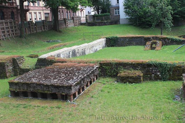 BarbaraThermen Barbara baths Trier Roman Monuments