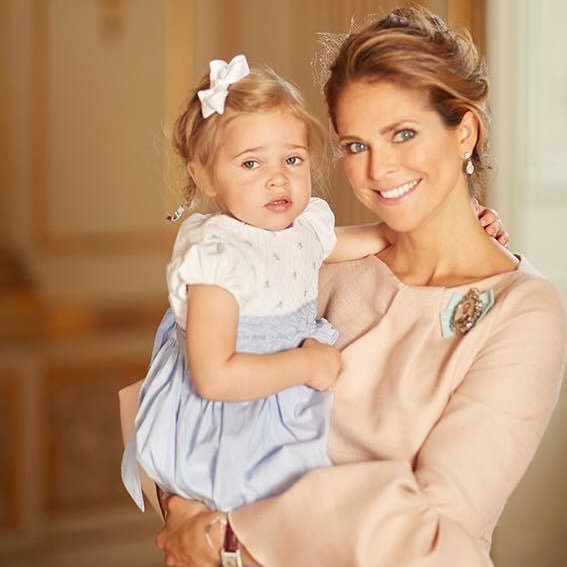 Princess Madeleine, Princess Leonore and Princess Estelle new photos - Prince Oscar's christening, Baptism of Prince Oscar, Style Princesses of Prince Oscar Baptism. Princess wears Dress