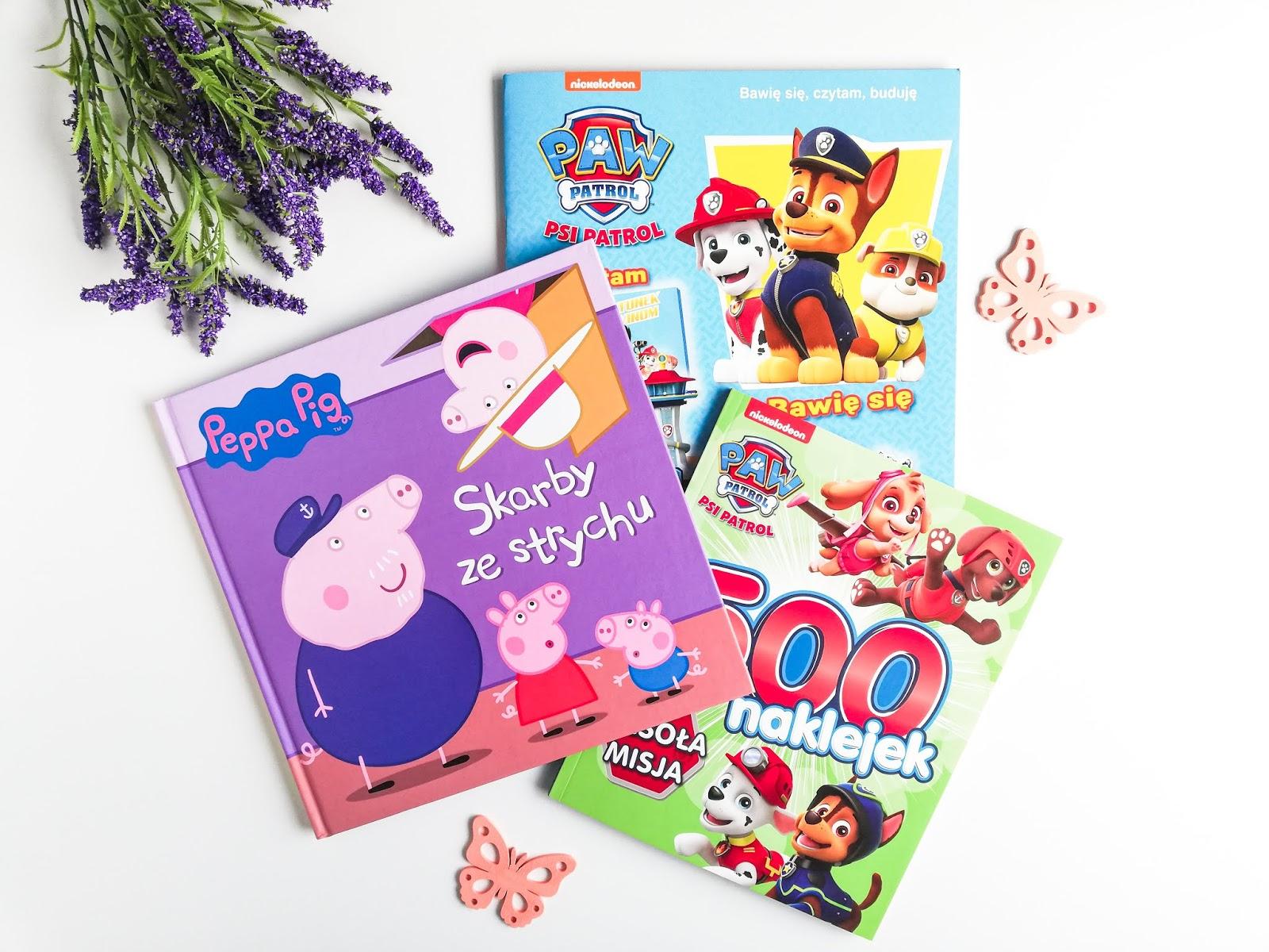 Coś do poczytania, rozwiązywania i świetnej zabawy | Peppa Pig | Paw Patrol | Książeczki dla dzieci od wydawnictwa Media Service Zawada