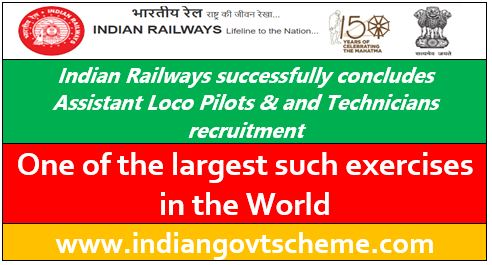 Indian Railways successfully concludes A.L.P