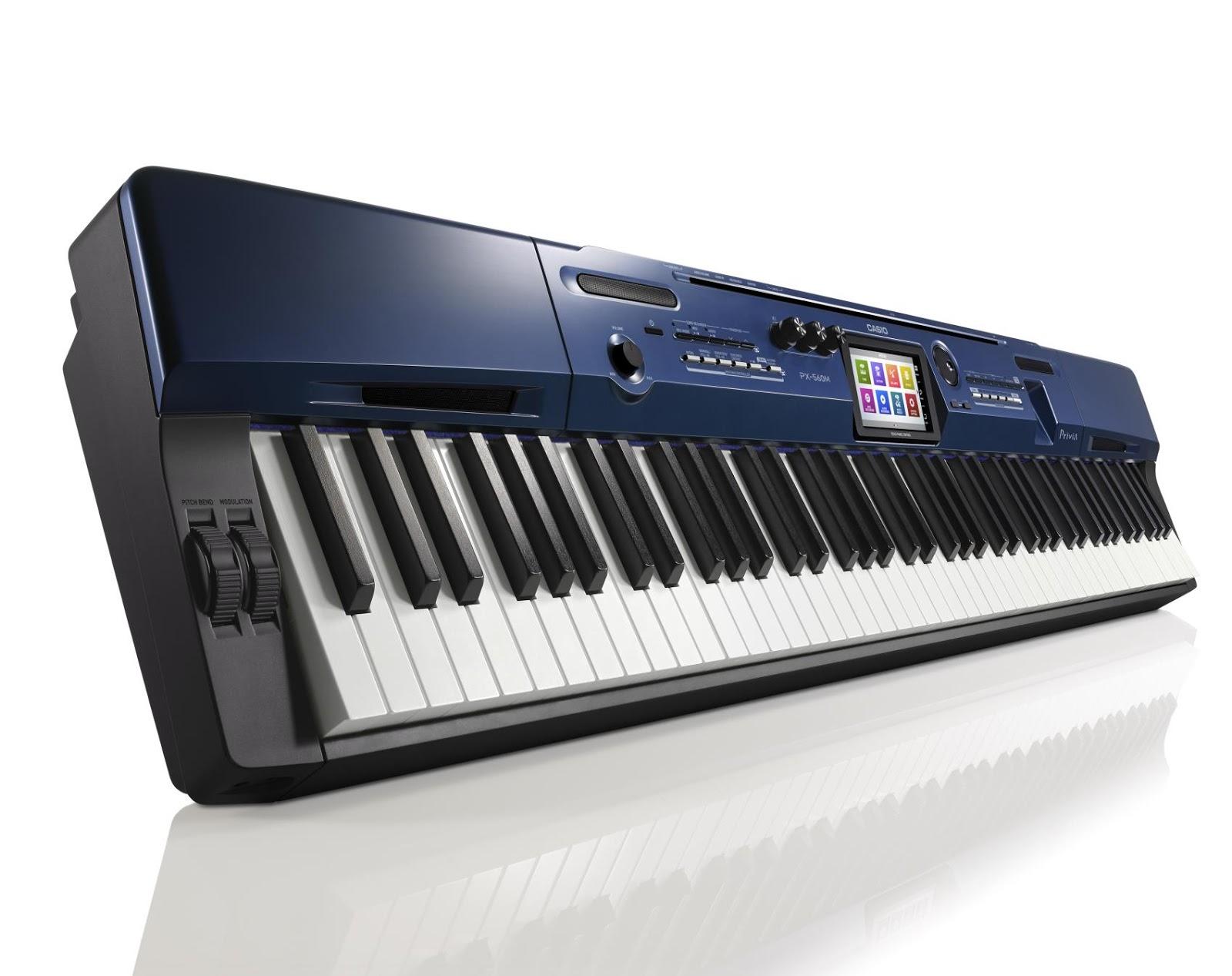 dan piano dien Casio PX-560M