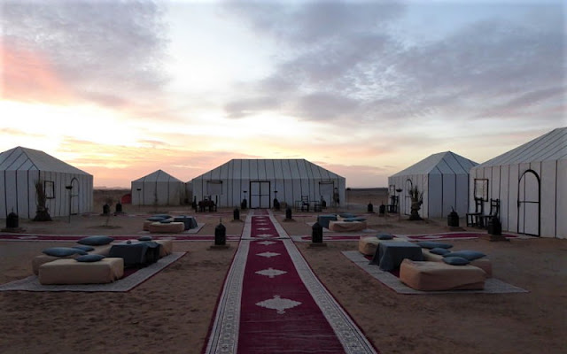 le tende al sirocco luxury camp