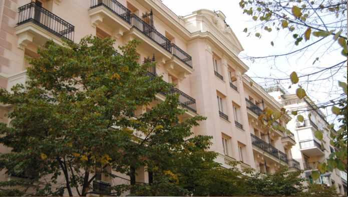 Calle Montesa de Madrid