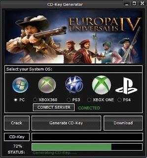 Europa Universalis IV Key Generator (Free CD Key)