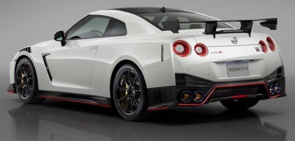 2020 Nissan GTR 50th Anniversary Edition Rear View