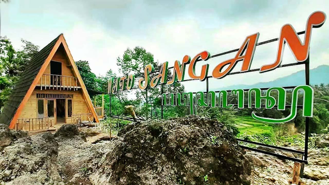 Watu Sangan Objek Wisata Baru Di Kabupaten Pemalang