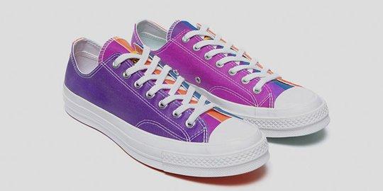 Converse Rilis Sneakers Yang Bisa Berubah Warna