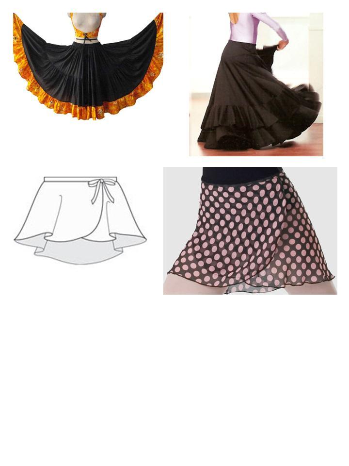 0f7e9c81e Novedades Paola: Faldas de Ballet y Danza
