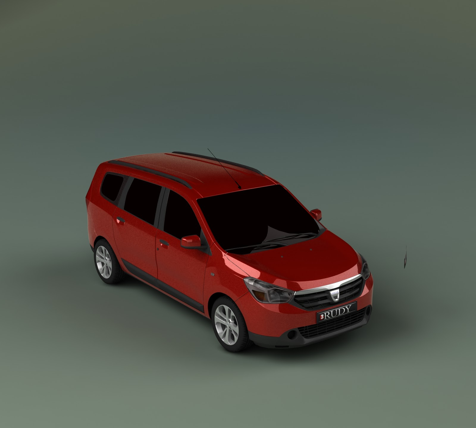 dacia lodgy 2013 3d models c toxic racer 39 s. Black Bedroom Furniture Sets. Home Design Ideas