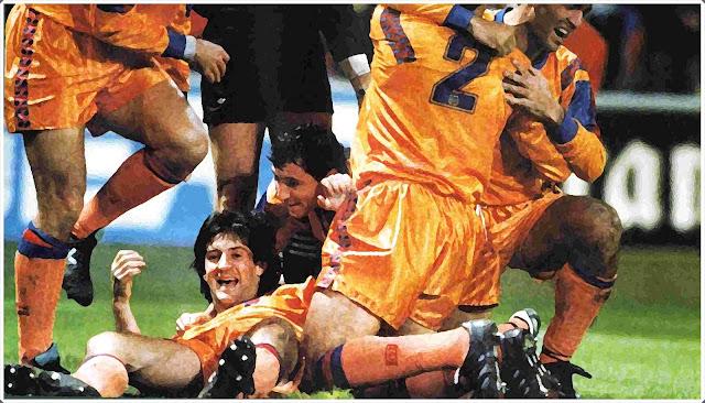Bakero Barcelona Kaiserslautern 1991-92