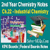 Industrial Chemistry 2nd Year Chemsitry Notes