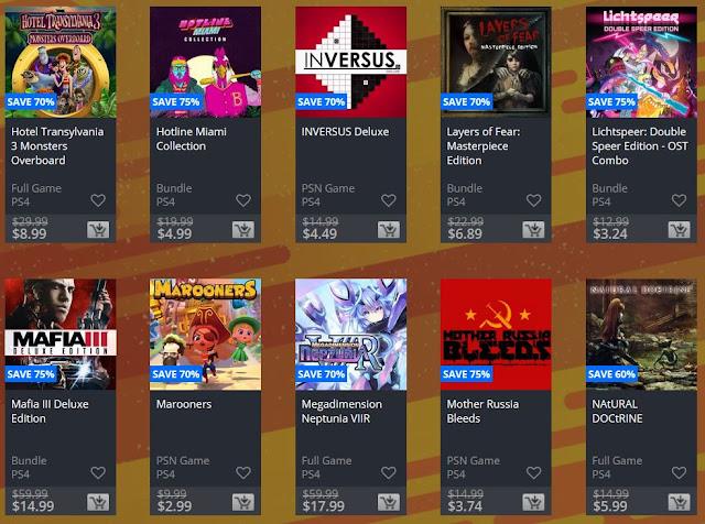 سوني تفتتح عروض التخفيضات السريعة على متجر PlayStation Store وهذه نظرة عن أهم الألعاب ..