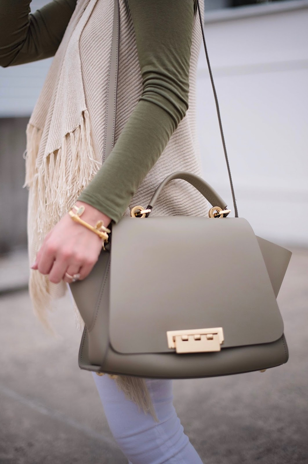 ZAC Zac Posen Eartha Soft Top Handle Bag - Something Delightful