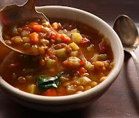 Sopa de Lentilhas (vegana)